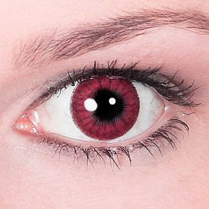 Линзы Красные Глаза Вампира (2 шт.)