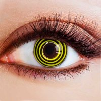 Линзы спираль желто-черные (2 шт.)