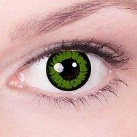 Линзы Темно-зеленые с ободком (2 шт.)