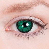 Линзы Зеленые Crazy (2 шт.)