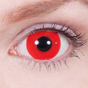 Мини Склеры Красные 17 мм (2 шт.)